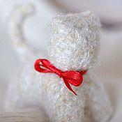 Куклы и игрушки ручной работы. Ярмарка Мастеров - ручная работа Вязанный котик. Handmade.