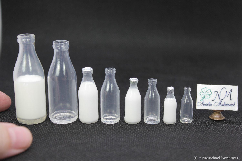Молочная бутылочка времен СССР, Кукольная еда, Щелково,  Фото №1