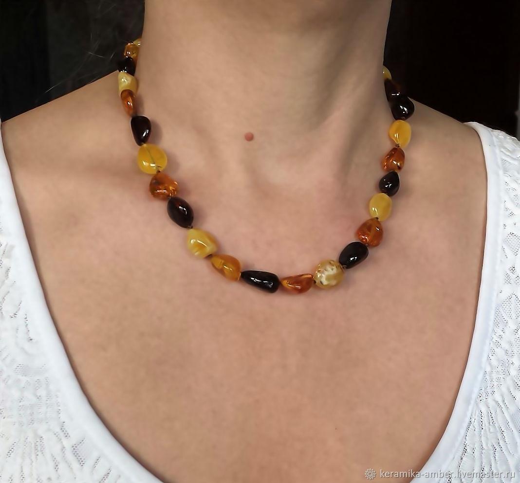 Amber Beads amber jewelry for girl woman, Beads2, Kaliningrad,  Фото №1