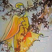 Картины и панно ручной работы. Ярмарка Мастеров - ручная работа Последний лист. Handmade.