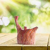 """Посуда ручной работы. Ярмарка Мастеров - ручная работа Чайник """"Труба зовет!"""". Handmade."""