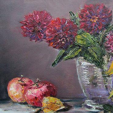 Картины и панно ручной работы. Ярмарка Мастеров - ручная работа Картины: Осенний цвет. Handmade.