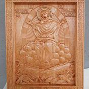 """Картины и панно ручной работы. Ярмарка Мастеров - ручная работа Икона Божией Матери,  """"Спорительница хлебов"""". Handmade."""