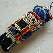 """Елочные игрушки ручной работы. Ярмарка Мастеров - ручная работа Игрушка """"Щелкунчик"""". Handmade."""