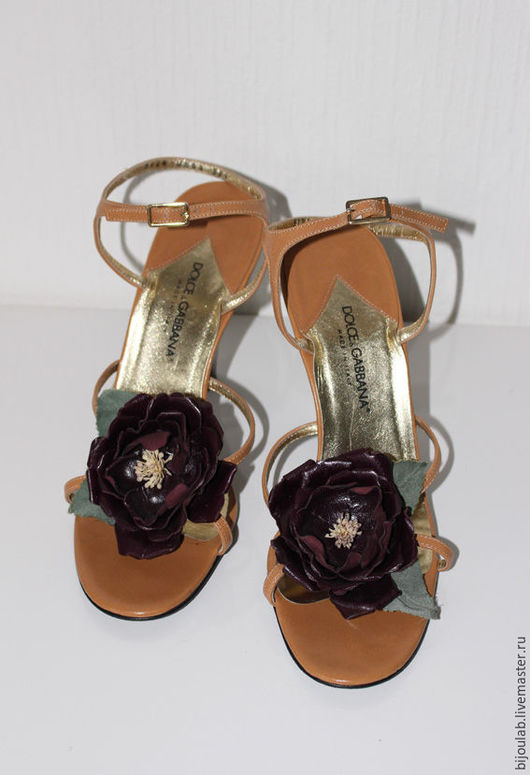 Винтажная обувь. Ярмарка Мастеров - ручная работа. Купить Босоножки винтажные Дольче и Габбана. Handmade. Бежевый, обувь ручной работы