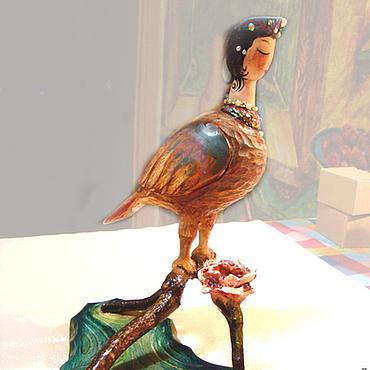 Русский стиль ручной работы. Ярмарка Мастеров - ручная работа Гамаюн-птица вещая. Handmade.