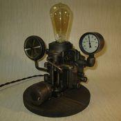 Для дома и интерьера handmade. Livemaster - original item Steampunk lamp. Handmade.