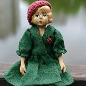 Куклы и игрушки ручной работы. Ярмарка Мастеров - ручная работа Деревянная кукла Мари шарнирная. Handmade.