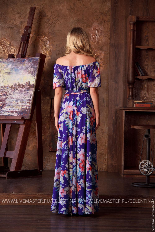 Платье летнее своими руками нарядное фото 810