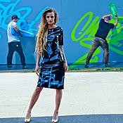 """Одежда ручной работы. Ярмарка Мастеров - ручная работа Платье виниловые """"Граффити"""". Handmade."""