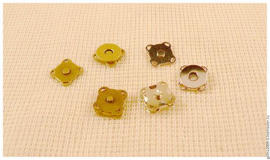 Другие виды рукоделия ручной работы. Ярмарка Мастеров - ручная работа. Купить Кнопки 10 мм. магнитные пришивные.. Handmade.