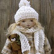 Куклы и игрушки ручной работы. Ярмарка Мастеров - ручная работа Катюша. Текстильная кукла. Handmade.