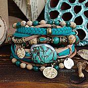 Украшения handmade. Livemaster - original item Multi-layer bracelet in Boho style
