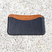 Сумки и аксессуары manualidades. Livemaster - hecho a mano Image, business card Holder ostrich leather. Handmade.