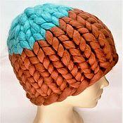 Аксессуары handmade. Livemaster - original item Helsinki hat knit. Handmade.