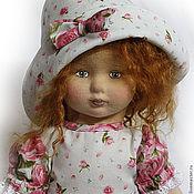 Куклы и игрушки handmade. Livemaster - original item Textile doll Nastya. Handmade.
