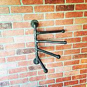 Ширмы ручной работы. Ярмарка Мастеров - ручная работа Вешалка водопроводной трубы в стиле Loft. Handmade.