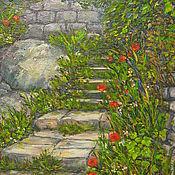 Картины и панно ручной работы. Ярмарка Мастеров - ручная работа Итальянская лестница. Handmade.