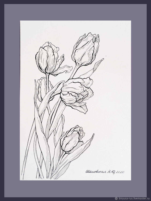 Картины и рисунки, графика - тушь, уголь, карандаш, акварель, Картины, Москва,  Фото №1