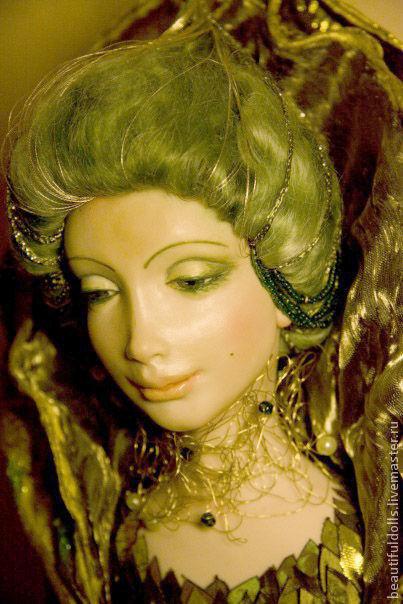 """Коллекционные куклы ручной работы. Ярмарка Мастеров - ручная работа. Купить Коллекция кукол Атлантида -""""Лес Атлантиды"""". Handmade."""