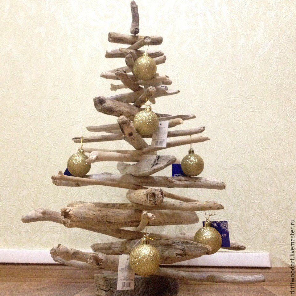 Christmas tree Driftwood Christmas tree – shop online on Livemaster ...