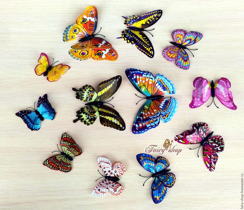 Декоративная бабочка Правильный мир 50