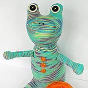 Куклы и игрушки ручной работы. Ярмарка Мастеров - ручная работа Лягушка Инесса. Handmade.