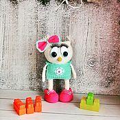 Мягкие игрушки ручной работы. Ярмарка Мастеров - ручная работа Сова, вязаные игрушки ручной работы. Handmade.
