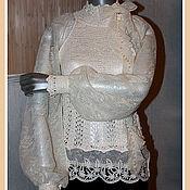 """Одежда ручной работы. Ярмарка Мастеров - ручная работа Блузка """"Торжество цвета """"Ivory"""". Handmade."""