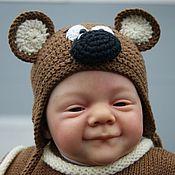 Куклы и игрушки ручной работы. Ярмарка Мастеров - ручная работа мой медвеженок малыш реборн. Handmade.