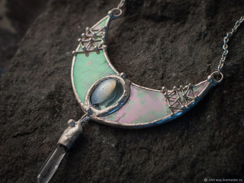 Moonlight pendant Artemis moon arrow, Pendants, St. Petersburg,  Фото №1