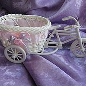Для дома и интерьера ручной работы. Ярмарка Мастеров - ручная работа Кашпо велосипед.. Handmade.