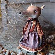 Куклы и игрушки ручной работы. Ярмарка Мастеров - ручная работа Лиса  Ржавка. Handmade.