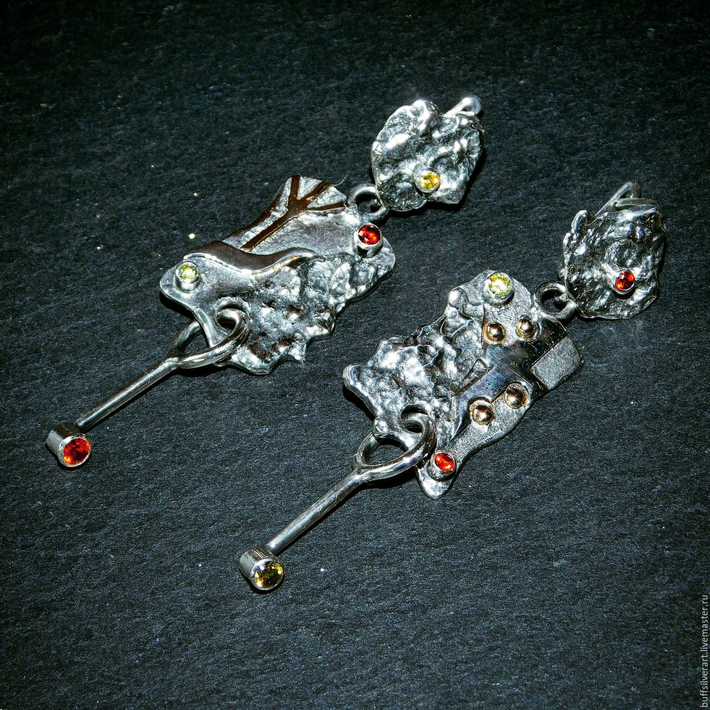 Earrings The Skeleton Key, Earrings, Ekaterinburg,  Фото №1