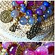 Комплекты аксессуаров ручной работы. Ярмарка Мастеров - ручная работа. Купить браслеты из натуральных камней. Handmade. Фуксия, браслет