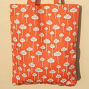 Сумки и аксессуары ручной работы. Ярмарка Мастеров - ручная работа Текстильная сумка Tangerine. Handmade.