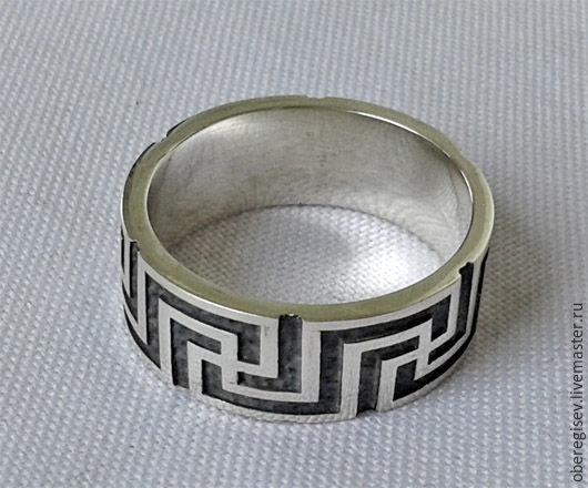 Кольцо `Рысич` из серебра 5-11 гр. 1100-2200руб.- Под заказ (7дн.)  в зависимости от размера