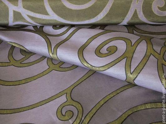 Шитье ручной работы. Ярмарка Мастеров - ручная работа. Купить HERMES тафта шанжан, Италия. Handmade. Итальянские ткани