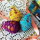 Подарки на Пасху ручной работы. Ярмарка Мастеров - ручная работа. Купить Ажурные мешочки для пасхальных яиц. Handmade. Комбинированный