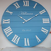 Для дома и интерьера handmade. Livemaster - original item Copy of Wall clock 100 cm. Handmade.