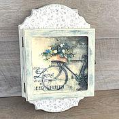 Для дома и интерьера handmade. Livemaster - original item The housekeeper Bike, Provence....... Handmade.