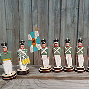 Куклы и игрушки handmade. Livemaster - original item Musketeer regiment of 1812. Handmade.