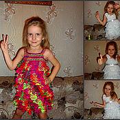 Одежда ручной работы. Ярмарка Мастеров - ручная работа Воздушный сарафан. Handmade.