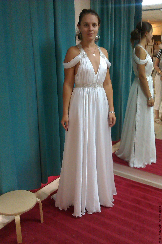 chiffon wedding dress, Wedding dresses, Moscow,  Фото №1