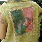 """Одежда ручной работы. Ярмарка Мастеров - ручная работа Жилет """" Луиза"""".. Handmade."""