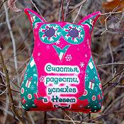 Подарки к праздникам ручной работы. Ярмарка Мастеров - ручная работа Новогодние игрушки антистрессовы есовы с пожеланиями. Handmade.