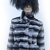 """Одежда ручной работы. Ярмарка Мастеров - ручная работа Куртка """" REX под Шиншиллу""""  """". Handmade."""