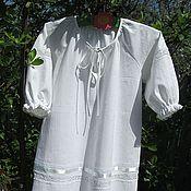 Работы для детей, handmade. Livemaster - original item Baptismal shirt. Handmade.