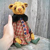 Куклы и игрушки ручной работы. Ярмарка Мастеров - ручная работа Мишка тедди винтаж. Поля.. Handmade.