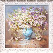 Картины и панно handmade. Livemaster - original item Pictures: a bouquet of daisies. Handmade.